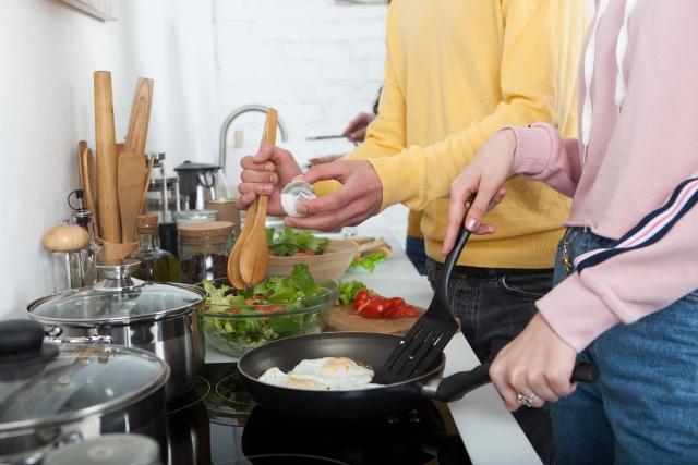 キッチン使用のイメージ