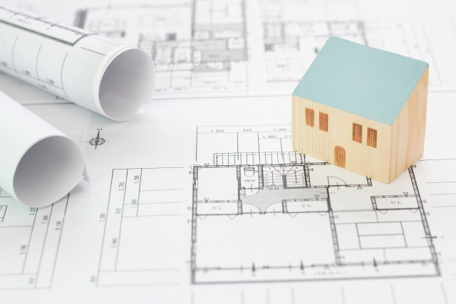 家の図面/寸法イメージ