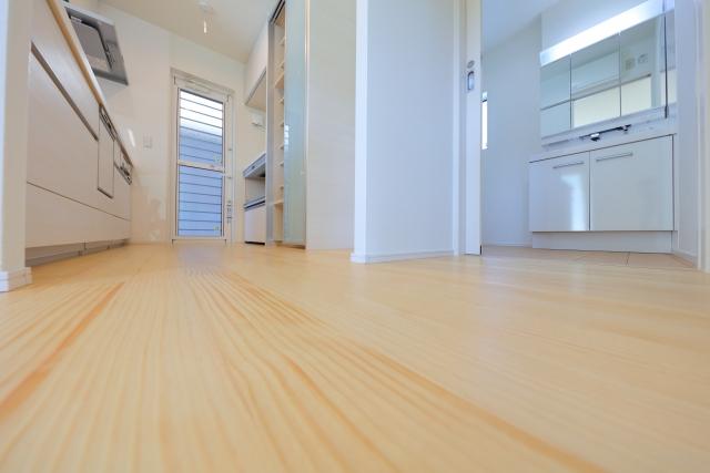 キッチン床の画像