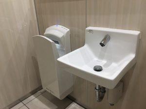 トイレの洗面台施工後